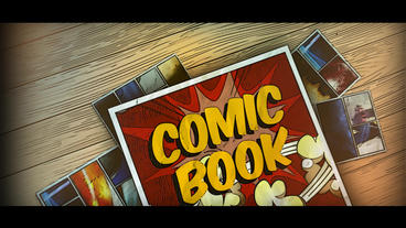Comic Book Template After Effect
