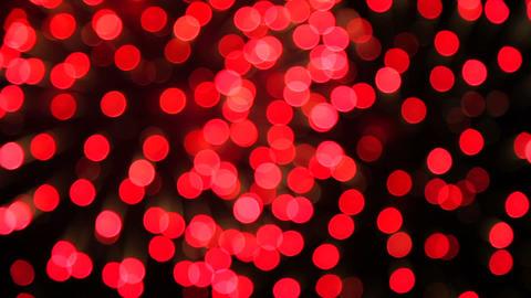 Defocused Fireworks Flashing In The Night Sky stock footage