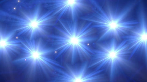 star glow blue pattern Animation