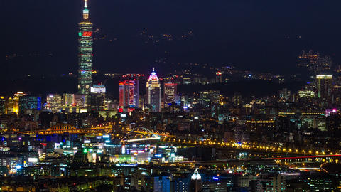 Sny 21225 P 03 Mudn 12all 台北城與101大樓 Pe Shan Yan Over Look Taipei Cit Footage