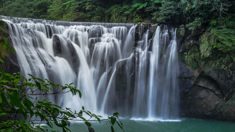 Sny 30121 P 04 12all 新北市十分瀑布 The Beautifull Waterfall in Taipei Su Footage