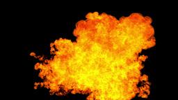 FIRE 03 w MATTE Animation