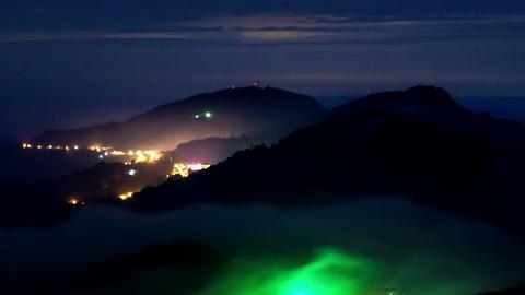 SNY 30125 P 12 Mzt 1 12all 嘉義隙頂雲霧之美 The Beautifull Mountain Mist Footage