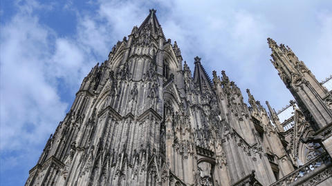 Cologne Cathedral Footage