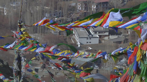 Prayer Flags Footage