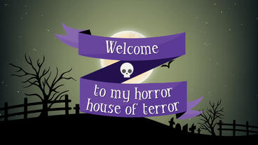 Halloween Invitation After Effects Project