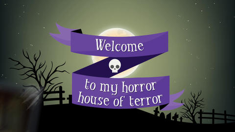 Halloween Invitation After Effects Template