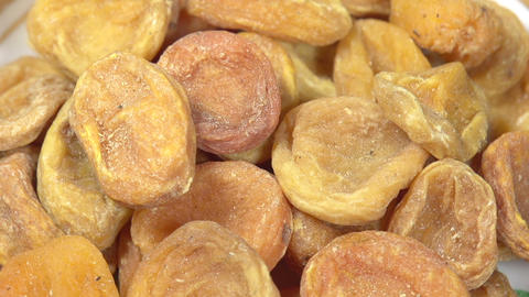 Dried Apricots HD Footage