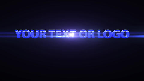 3 D text animation After Effects Template