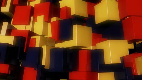 warm glossy box Animation