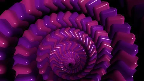 pinky cube twirl Animation