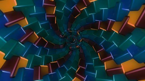 sweet color twirl Animation