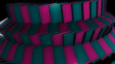 fun cubes row Animation