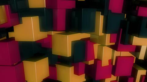 retro glossy box Animation