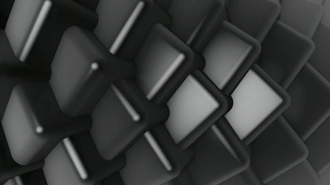 grayscale lights cube Animation