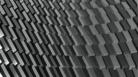 cube row monochromatic Animation