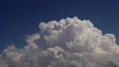 Seething Clouds In The Sky HD stock footage