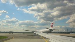 Frankfurt Airport stock footage