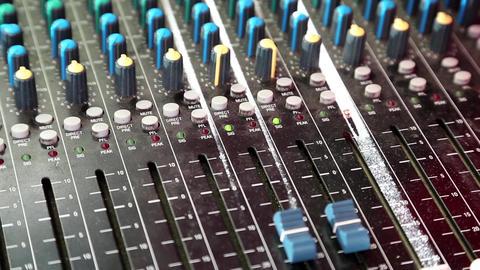 Audio production console Live Action