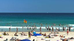 Bondi Beach in Sydney Footage