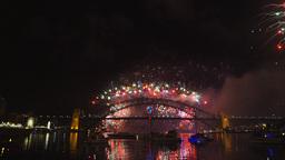 nye fireworks sydney-60p Live Action