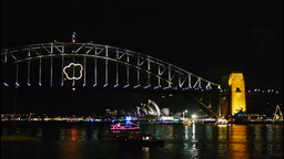Sydney Harbour New Years Eve Live Action