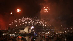 New Years Eve 2013 Sydney-6 stock footage