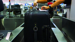 baggage check-in Footage
