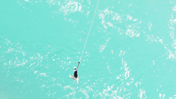 bungy jump close up Footage