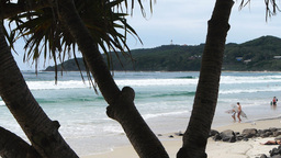 surfers at byron bay Footage