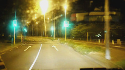 time lapse drive through christchurch Footage