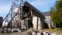 christchurch cathedral square-2 Footage