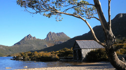 dove lake boat shed Footage