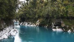 beautiful hokitika gorge Footage