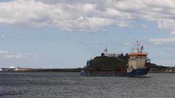 industrial ship Footage