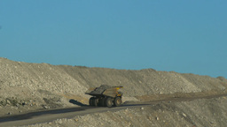 mining truck Footage