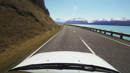 driving to mt cook fpv Footage