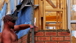 australian bricklayers Footage