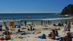 sandy australian beach Footage