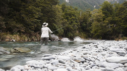 Fly Fishing New Zealand Footage