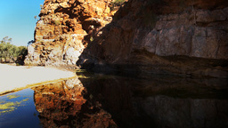ormiston gorge cliffs Footage