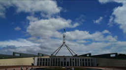 Parliament House, Canberra Australia Footage