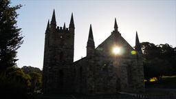 old church port arthur tas Footage