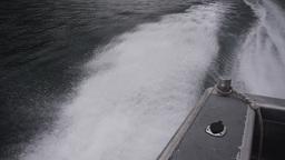 Motorboat wake Live Action