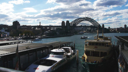 circular quay time lapse Footage