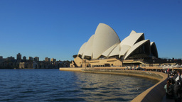 sydney opera house from circular quay Footage