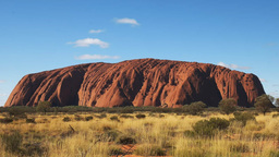 midday uluru close up Footage