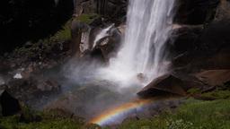 vernal falls yosemite Footage