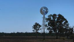 farm windmill Footage