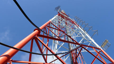 broadcasting antennas and towers site Footage